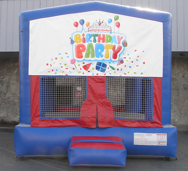 Birthday-Bounce 13 x 13